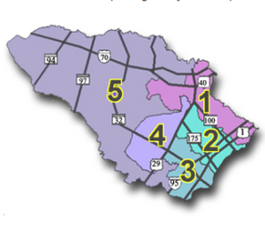 Howard County Council Districts Map