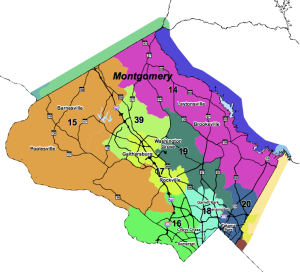Montgomery County Districts