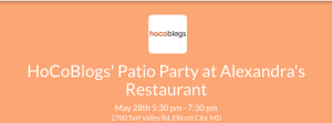 HoCoBlogs May 28th
