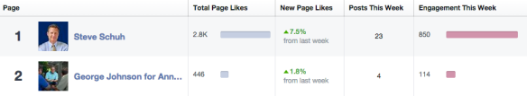 AACE Facebook Stats