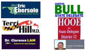 Logos of Delegate District 12