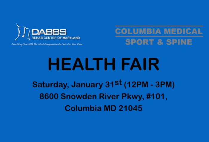 Dabbs Health Fair