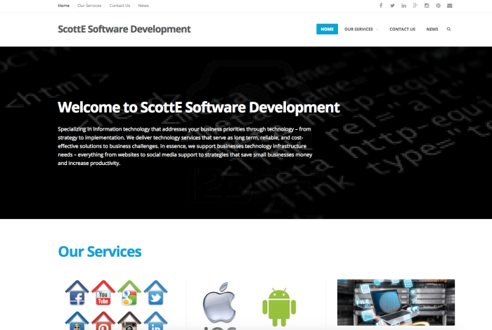 ScottE Software Website