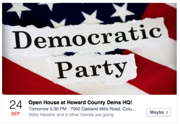 HoCo Dems Open House