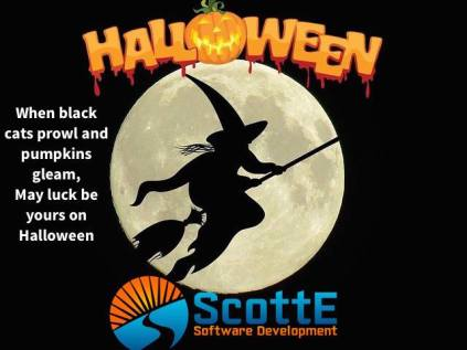 Happy Halloween from ScottE Software