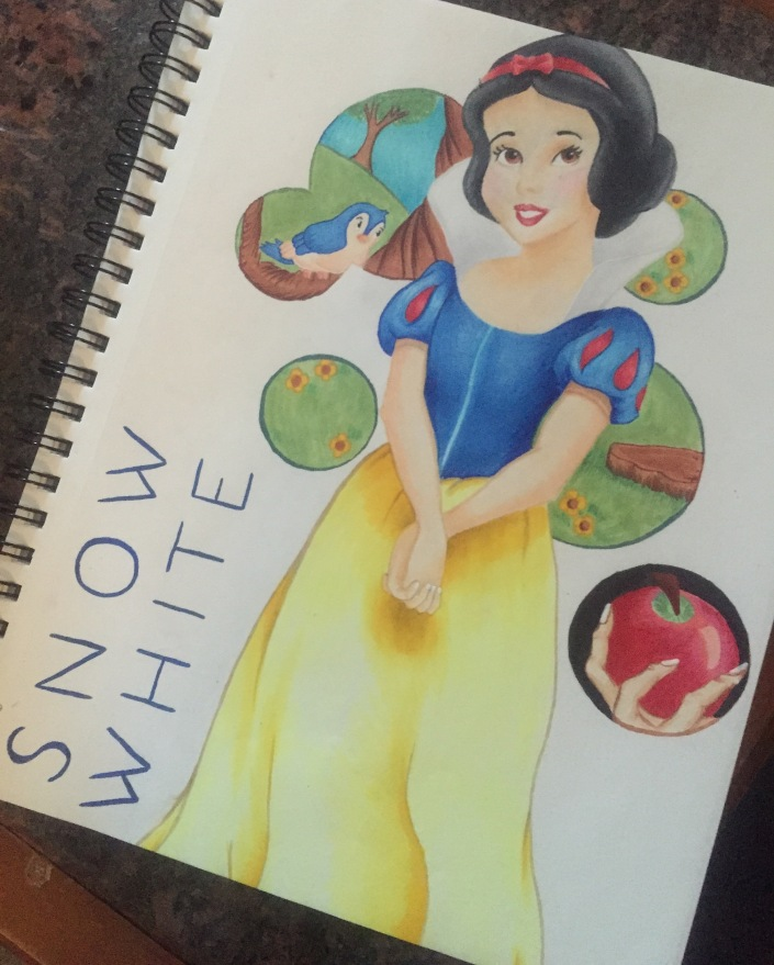 Snow White by Shelby Ewart