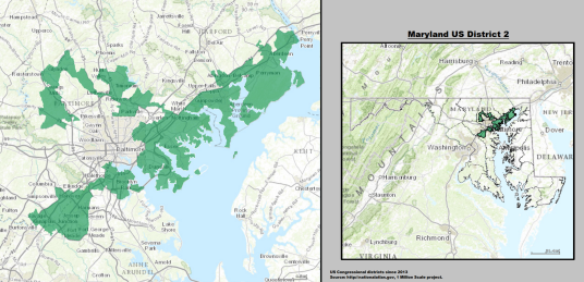 Candidates  Marylands 2nd Congressional District  April